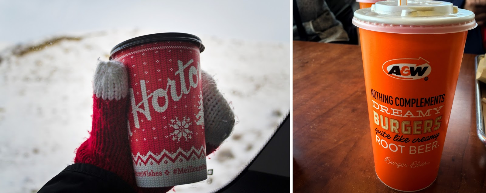 Tim Horton's and Root Beer in Canada