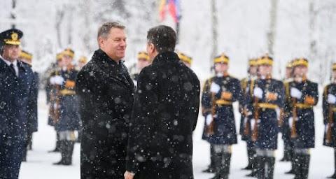 A nyugat-balkáni bővítésről és más uniós projektekről egyeztetett a szlovén és a román elnök Bukarestben