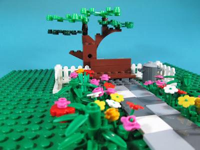 MOC LEGO Jardim na Primavera