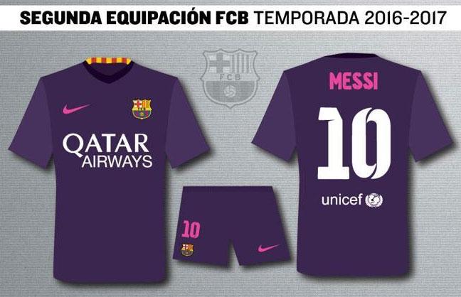 sports shoes 47e53 c532c Soccer777: Soccer777.hk--Leaked: Barcelona 16-17 Away Kit to ...