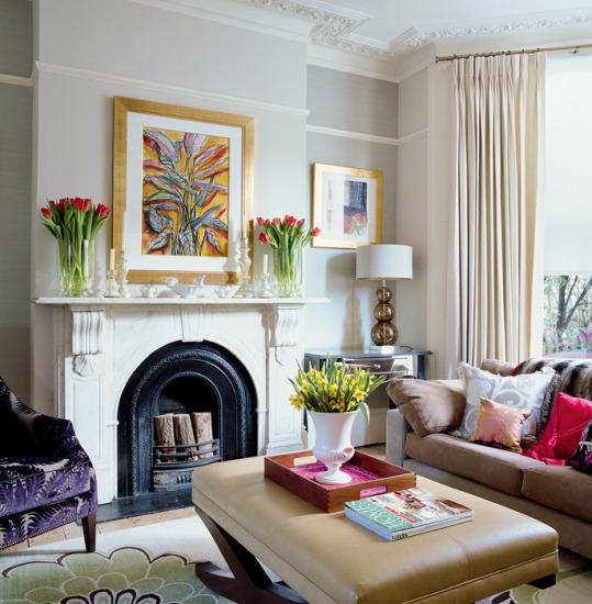 22 Modern Interior Design Ideas For Victorian Homes: Hogares Frescos: Impresionantes Diseños De Salones