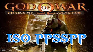 God Of War Chains of Olympus ISO PPSSPP For Android