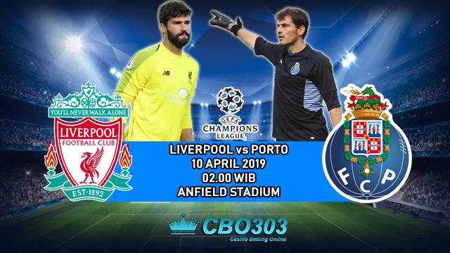 Prediksi Tepat Liga Champions Liverpool vs Porto (10 April 2019)