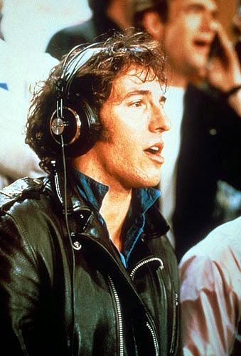 "Bruce Springsteen nas gravações do single ""We Are the World"""