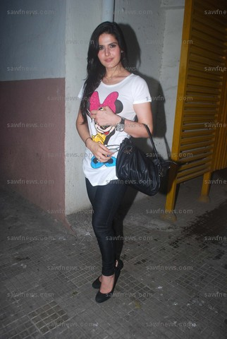 Surya Dua Belas Zarine Khan Micky Mouse Cute At Ready Special Screening