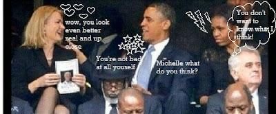 thorning obama selfie