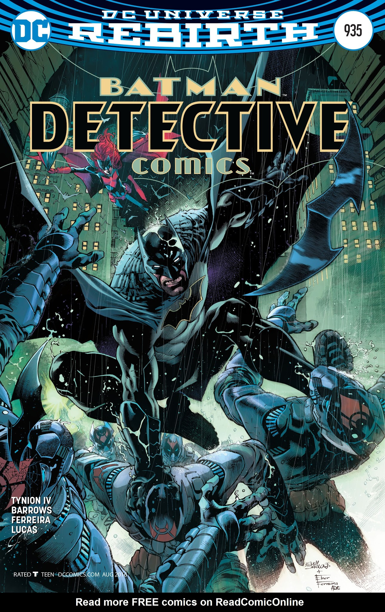 Detective Comics (1937) 935 Page 1