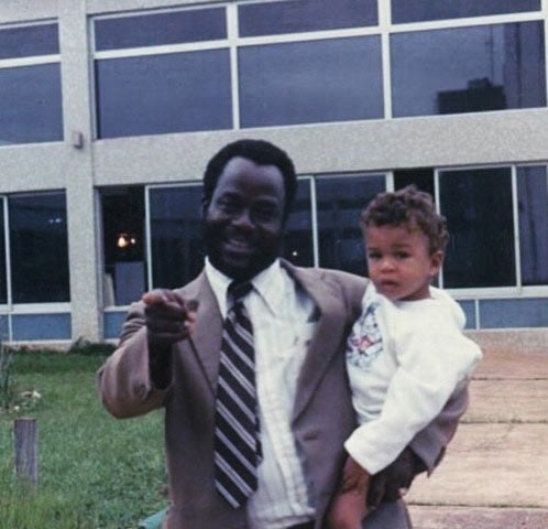 Did he bleach? See childhood photo of American-Nigerian singer, Jidenna