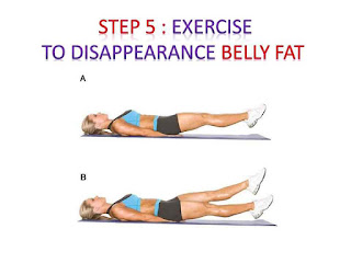 exercise to tighten the muscles and the disappearance belly fat