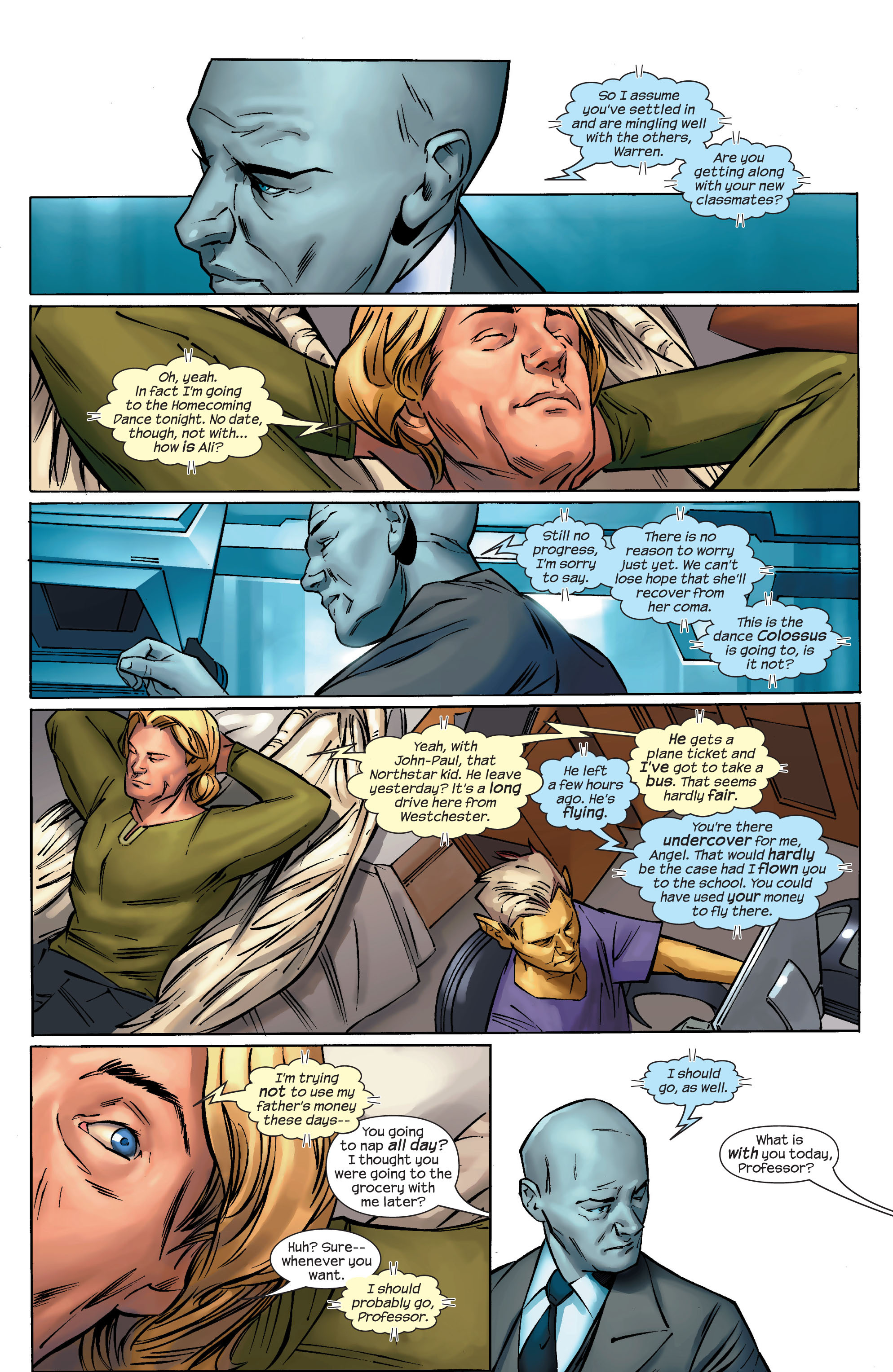 Read online Ultimate X-Men comic -  Issue #69 - 3