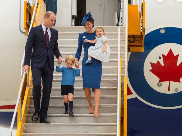 Royal Tour Canada: Dzień I.