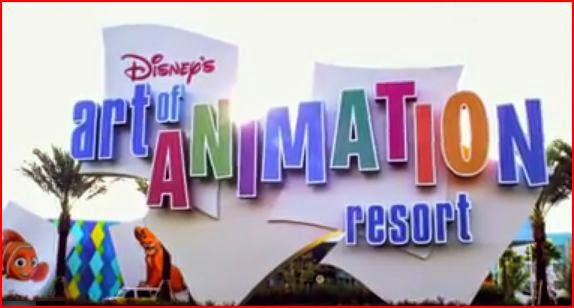 Disney Art of Animation Resort Walt Disney World animatedfilmreviews.filminspector.com