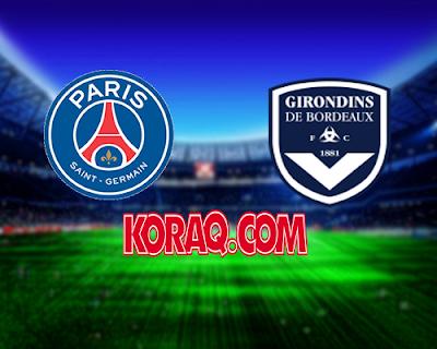 مباراة بوردو وباريس سان جيرمان بتاريخ 02-12-2018 الدوري الفرنسي