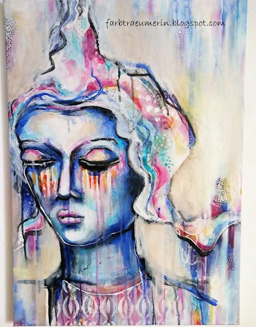 Keine-Zeit-zum-Malen-Acrylbilder-beenden-Gemaelde-Buddha