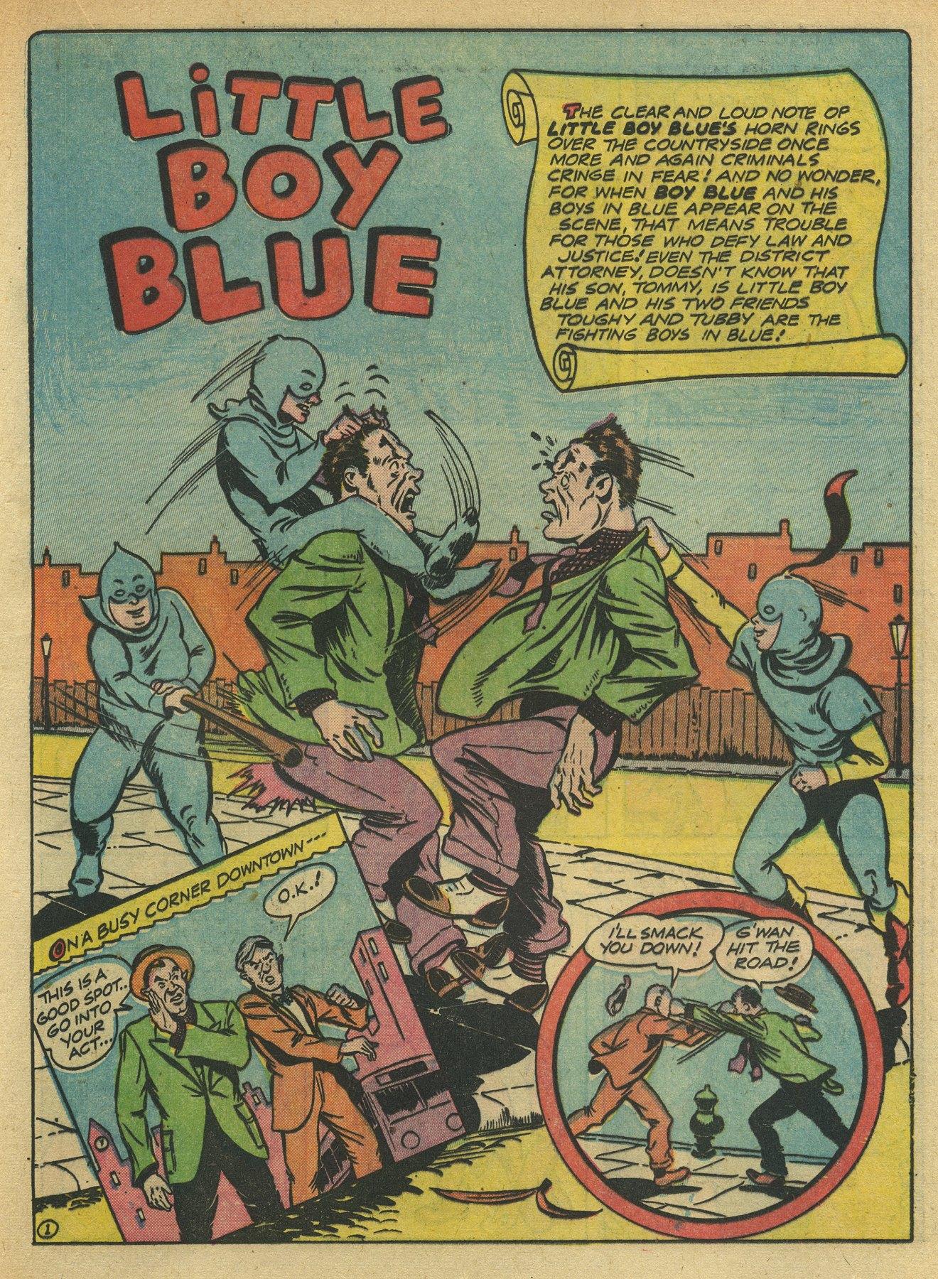 Read online Sensation (Mystery) Comics comic -  Issue #10 - 49
