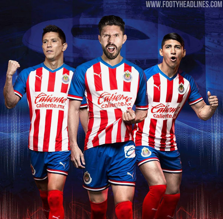 pretty nice 17008 ff450 Chivas 19-20 Home & Away Kits Released - Footy Headlines