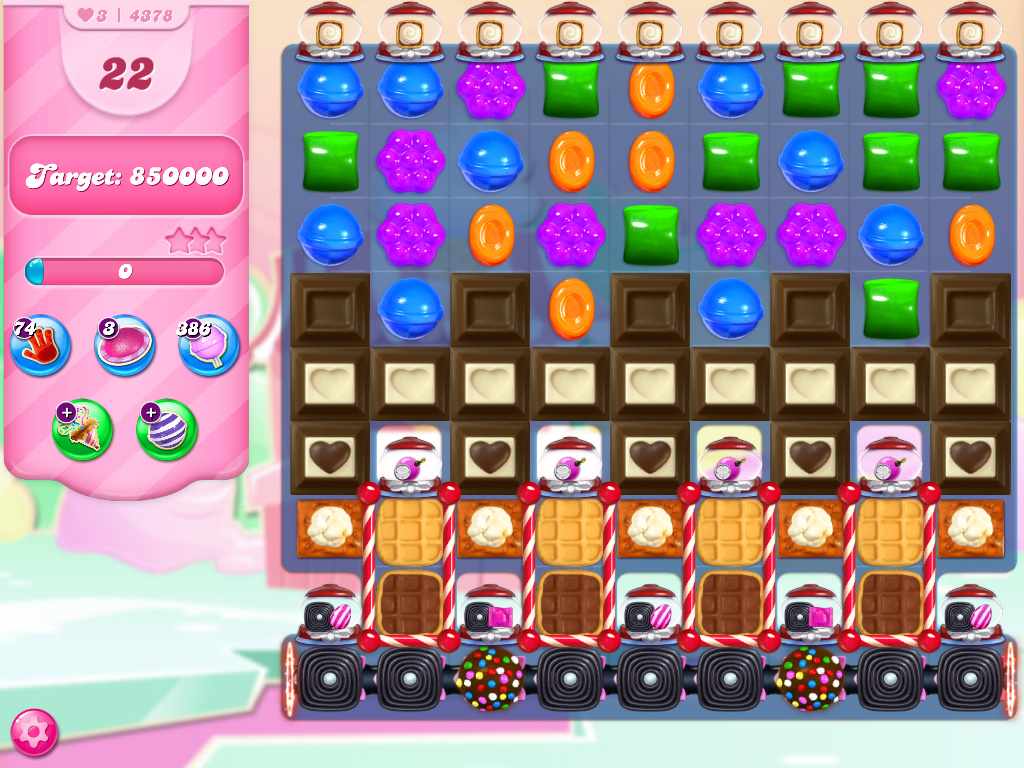 Candy Crush Saga level 4378