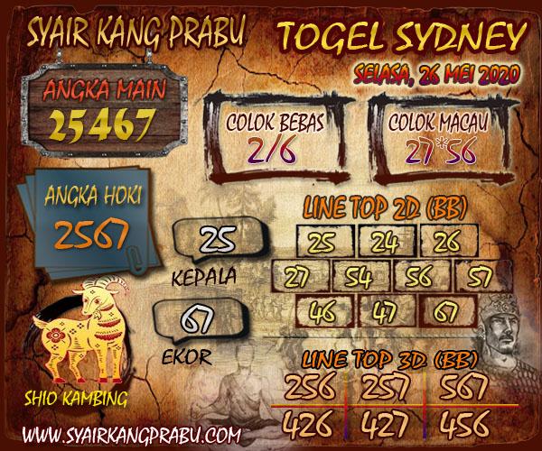 Syair Kang Prabu Togel Sydney