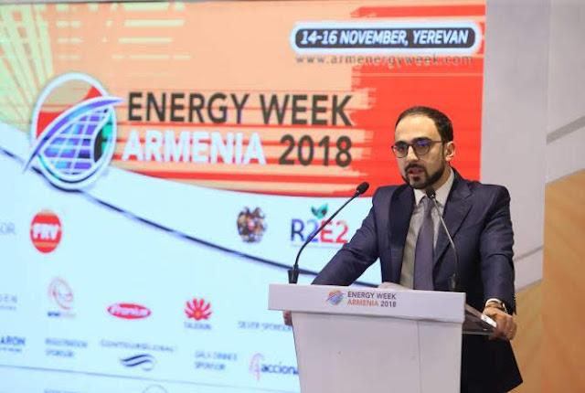 Comienza foro Energy Week Armenia 2018 en Ereván