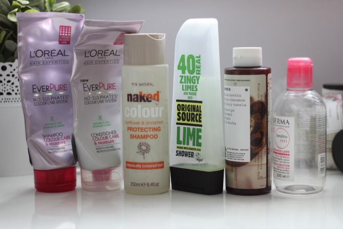 May 2014 empties