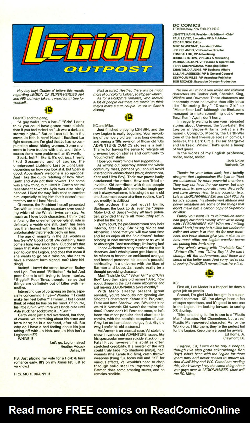 Legion of Super-Heroes (1989) 71 Page 24