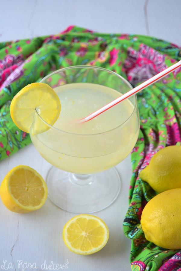 Limon thermomix granizado sin azucar