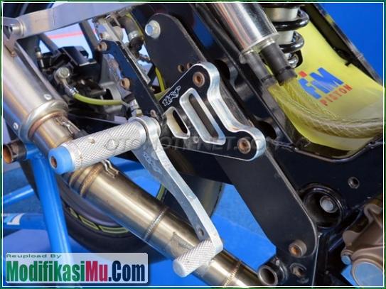 Footstep Racing HRP - Video Cara Modifikasi All New Suzuki Satria F150 FI Sporty Untuk Balapan Terbaru Sederhana Tapi Keren
