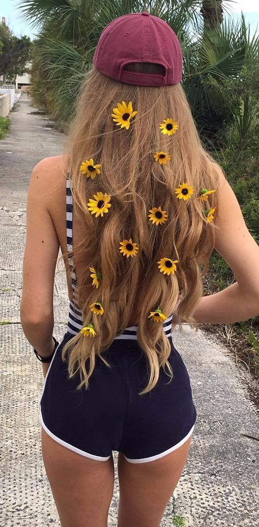 nature in my hair | summer backless trend