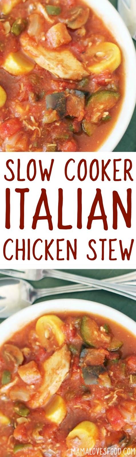 Easy Chicken Cacciatore Recipe for the Crock Pot