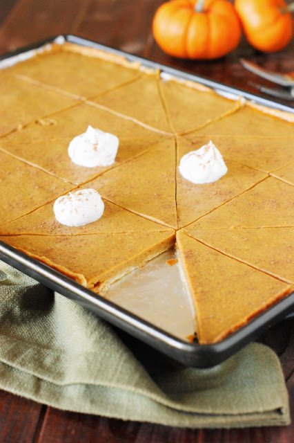 Pumpkin Slab Pie image