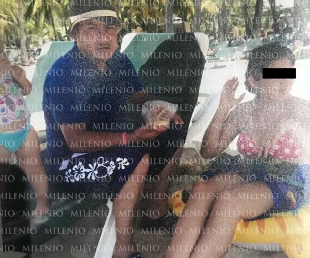 """Fotogrías.- """"El Marro"""" es captado en playas de Mazatlan disfrutando de vacaciones en tierra del Cártel de Sinaloa"""