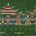 Bản vẽ thiết kế chùa Ngọc Chơn ở Đắc Lắc