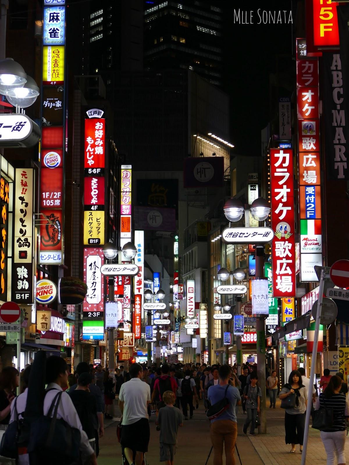 Quartier de Shibuya.