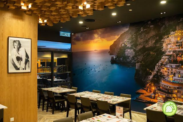Positano Risto Publika 1 Halal Italian Restaurant In Town Malaysian Foodie