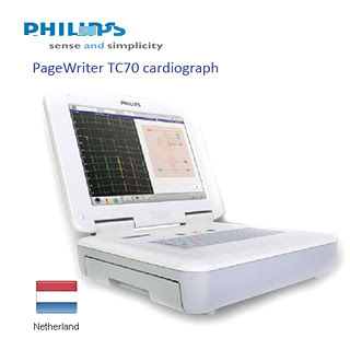 EKG/ECG 12 Channel Philips PageWriter TC70 cardiograph | ECG 12