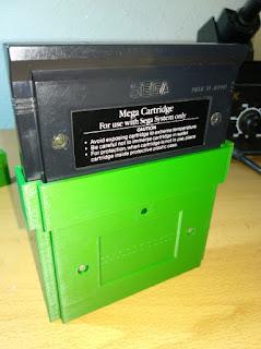 placa master converter megadrive con cartucho