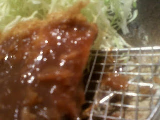Tonkatsu is ubiquitous in Japan. Usually, Shredded Chinese cabbage come along with it.