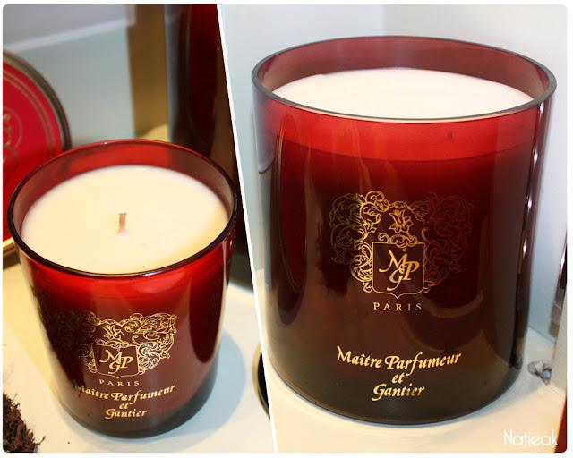 Bougies Maître Parfumeur et Gantier
