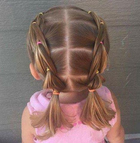Cute%2BEasy%2BHairstyles%2BFor%2BLittle%2BGirls%2B%25286%2529 30 Cute Easy Hairstyles For Little Girls Interior