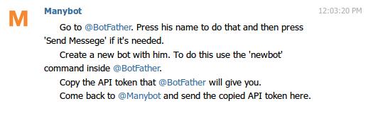 Permintaan Token Bot