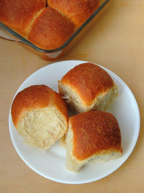 Eggless Lolo Buns, Coconut Buns