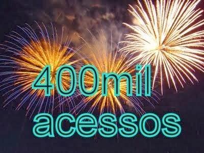 Resultado de imagem para 400.000 ACESSOS
