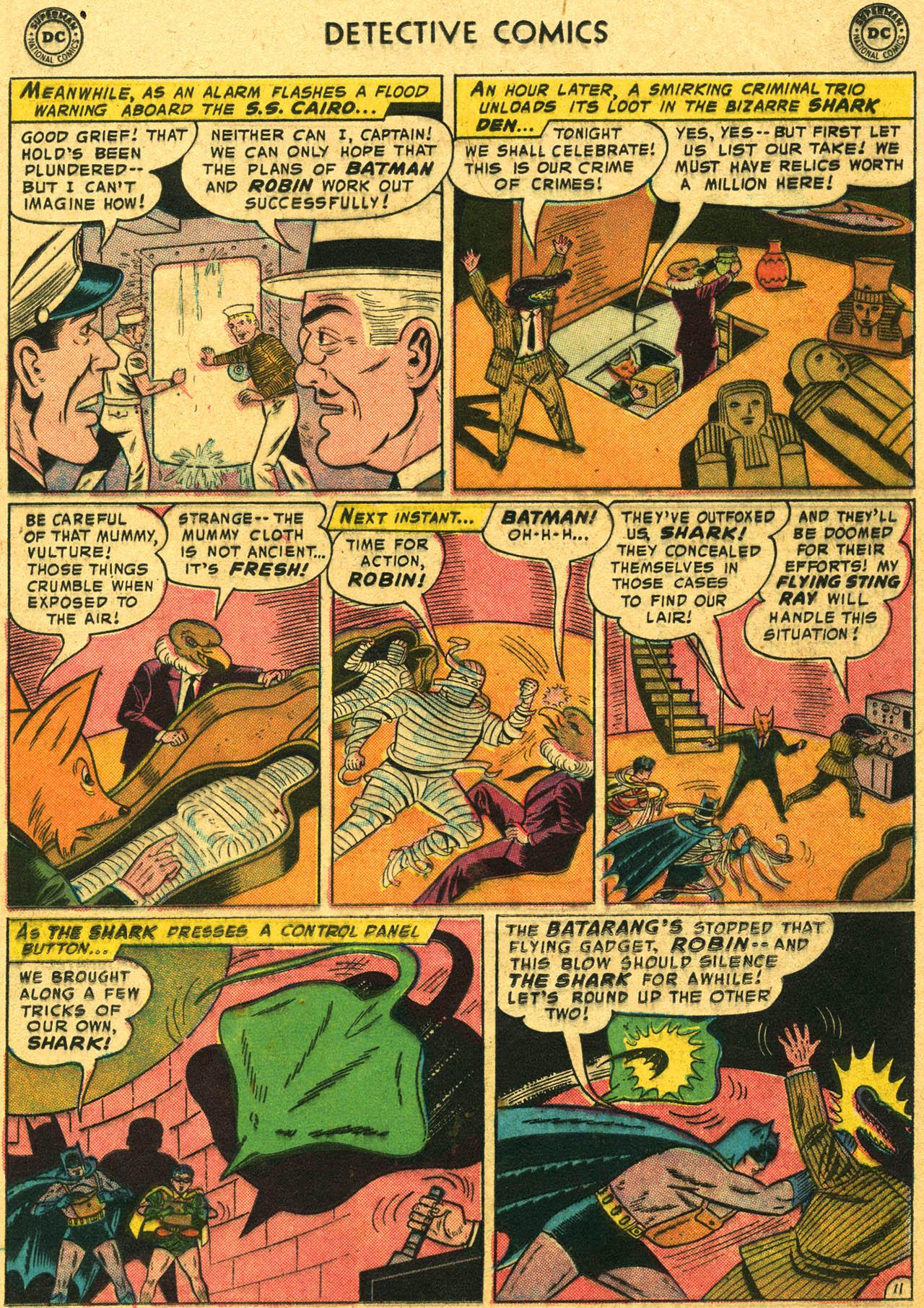 Read online Detective Comics (1937) comic -  Issue #253 - 13