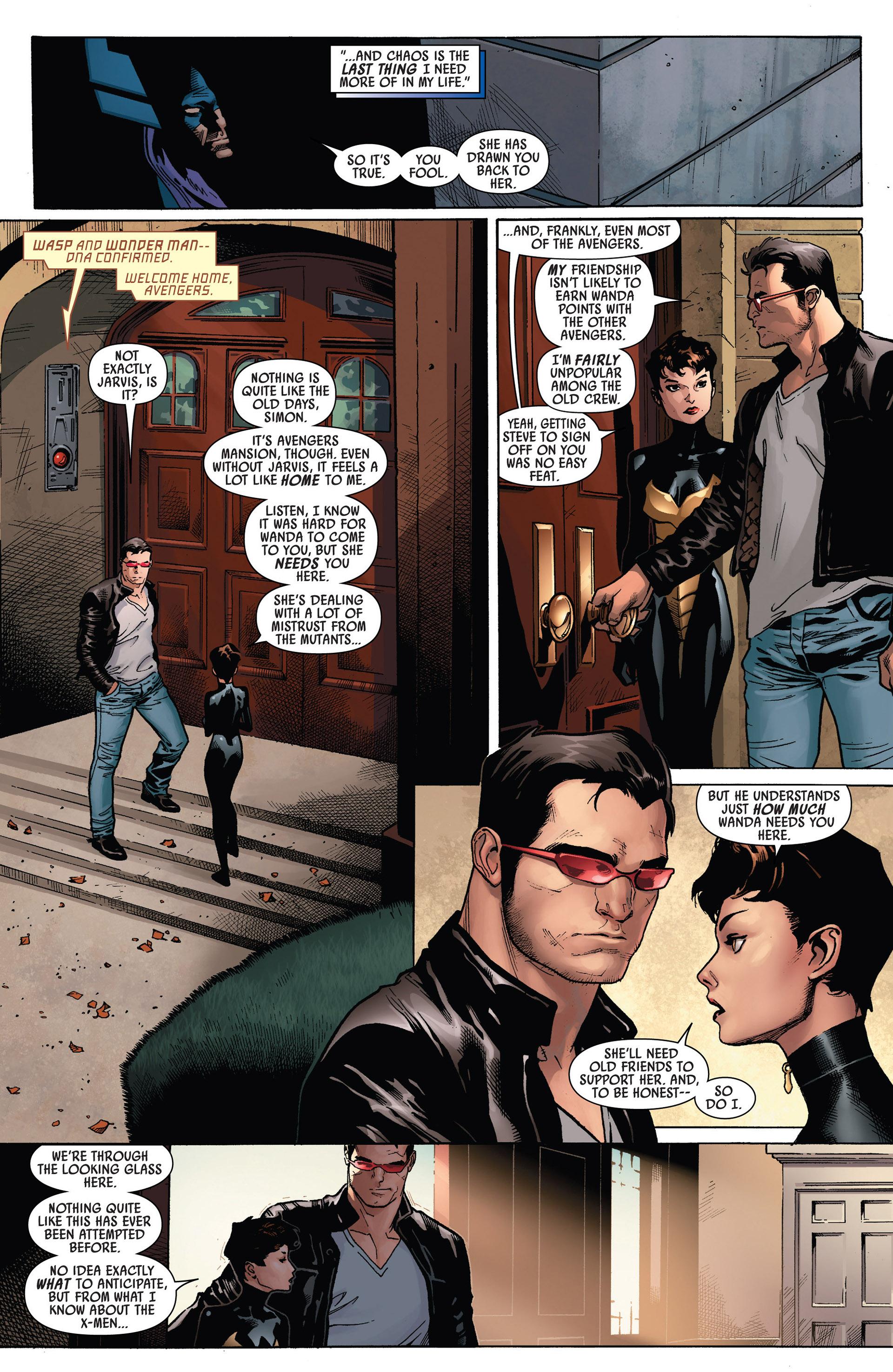 Read online Uncanny Avengers (2012) comic -  Issue #5 - 7