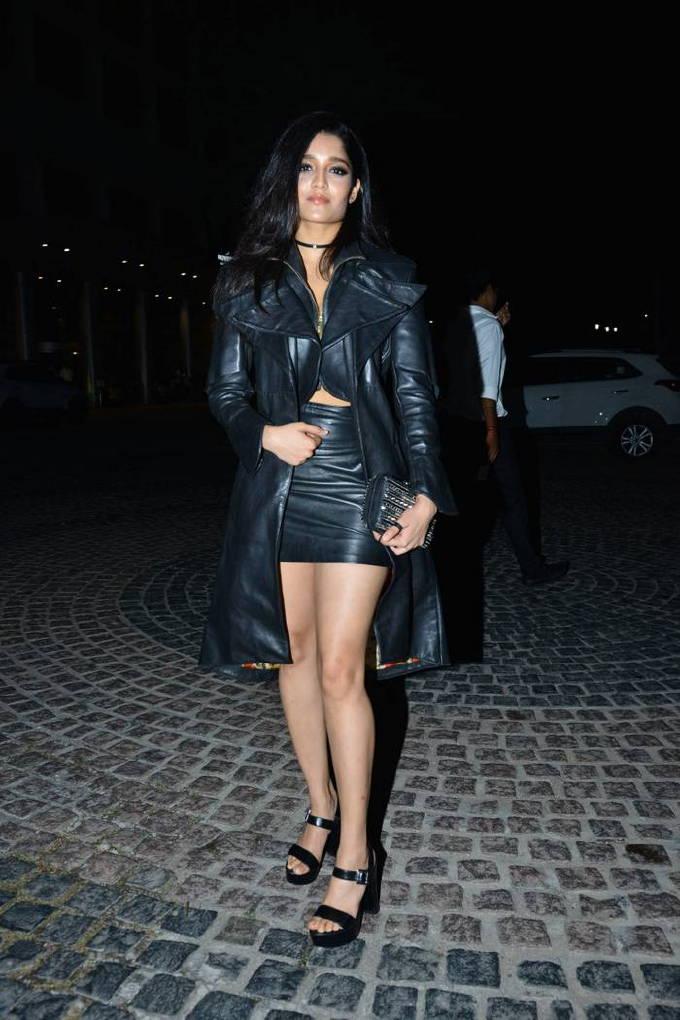 Indian Actress Ritika Singh Stills At Jio Filmfare Awards 2018