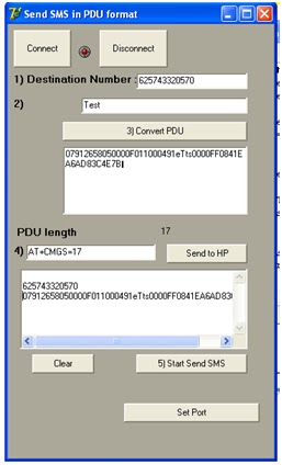Step by step Accessing SMS With Delphi: Sending SMS Using
