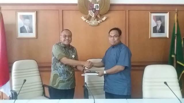 DPRD Lobar Konsultasi Raperda Ke Kementrian RI