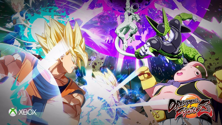 dragon ball fighterz xbox one x 4k