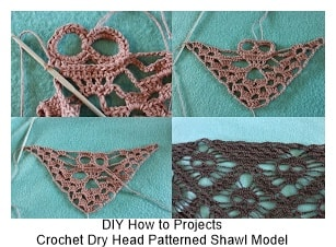 Crochet Shawl Models 5