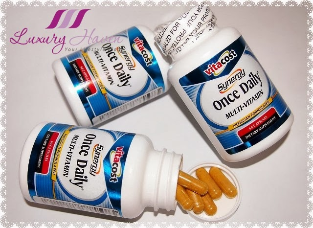 vitacost synergy once daily multi-vitamins review
